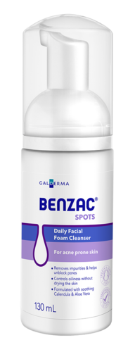 Benzac Daily Facial Foam Cleanser