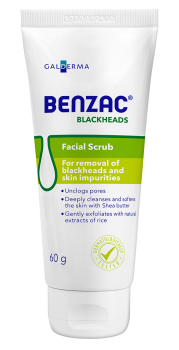 Benzac Blackheads Facial Scrub Tube
