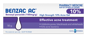 Benzac AC High Strength 10% Acne Gel