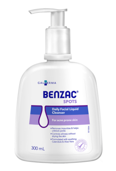 Benzac Daily Facial Liquid Cleanser